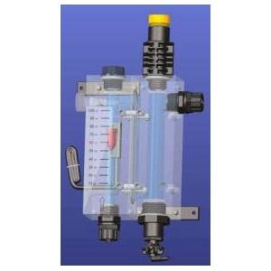2-х камерная ячейка с держателями датчиков Seko. Расходомер + pH/Redox(ОВП)