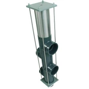 5-позиционный клапан обратной промывки Besgo DN 100, Ø 110 мм, 400 мм арт. 083502