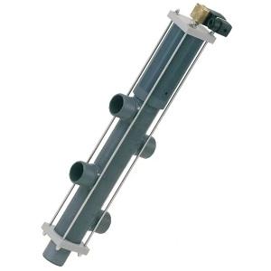 5-позиционный клапан обратной промывки Besgo DN 40, d 50 мм, L 140 мм (083105) арт. 083105