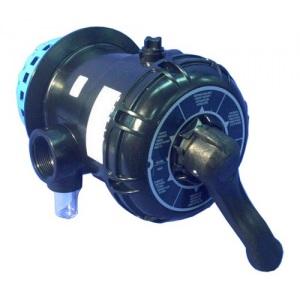 6-позиционный клапан ручной для фильтровальных установок Dinotec Germania 400 TM