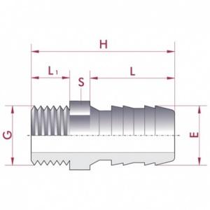 диаметр 3/8' x 16 мм