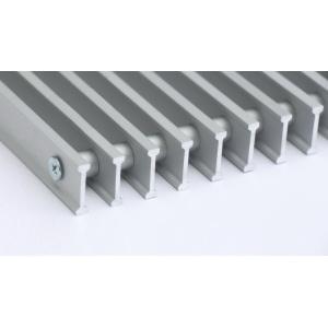 Алюминиевая рулонная решётка перелива Savva 2001