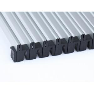 Алюминиевая рулонная решётка перелива Savva 2003