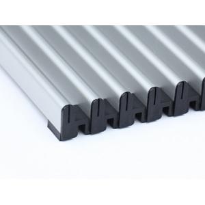 Алюминиевая рулонная решётка перелива Savva 2004