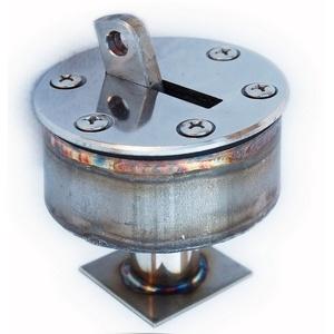 Анкерное крепление ПТК-Спорт с выдвижным крюком для разделительных дорожек в пленочный бассейн арт. 001-0039