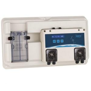 Автоматическая дозирующая станция Swim-Tec DOS pH/Rx Basic Digital для измерения и регулировки значений pH/Rx