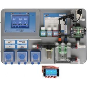 Автоматическая дозирующая установка OSF Waterfriend-3 pH/Redox/Cl с 3 насосами без поддонов для канистр арт. 310.000.0860