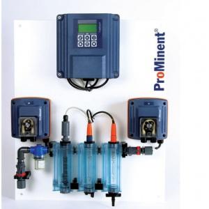 Автоматическая станция ProMinent ACL2A для хлора и рН (мембранные насосы)
