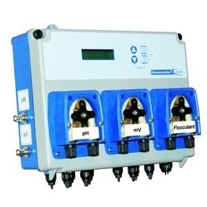 Автоматическая станция Seko Kommander 2P pH/Rx, 1,5 л/ч, 0÷14pH / 0÷999мВ, 1,5 бар, реле питания макс. 1,5 кВт арт. SPMKO3PA1000