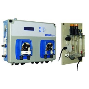 Автоматическая станция Seko Pool Basic Pro pH/Хлор/Rx, 5 л/ч, 0÷14pH / 0÷5 ppm / 0÷999 мВ, 1,5 бар арт. SXCBASPA5000