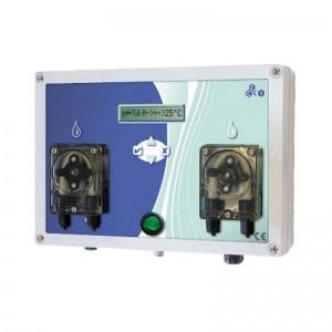 Автоматическая станция дозации CCEI Equalizo DUO с аналоговым управлением (химреагенты + рН)