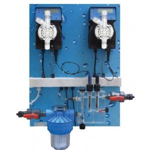 Автоматическая станция дозирования и контроля Etatron Pool Guard 1 PH/RX Panel арт. QPA5Q11027ER