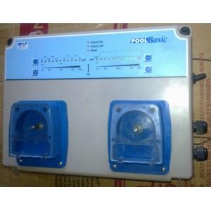 Автоматическая станция обработки воды Seko Pool Basic pH/H2O2