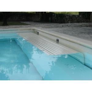 Автоматическое подводное сматывающее покрытие Del Rollinside 1 неглубокого залегания. Макс размер бассейна 3 х 7 м арт. rollinside1-48w