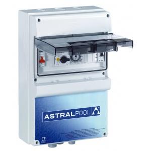 Блок управления AstralPool для 1 насоса и 2 подводных светильников с защитой от тепловой перегрузки