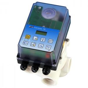 Блок управления автоматической обратной промывкой OSF Eurotronik-10, с сенсорной панелью и ЖК-дисплеем, для клапанов 1 1/2′ и 2′ арт. 310.488.2201