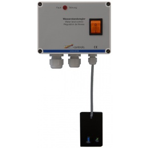 Блок управления уровнем воды OSF Skimmerregler с ёмкостным датчиком KF-3, магнитный клапан 1/2, 230В, кабель 2,5 м арт. 313.000.0074
