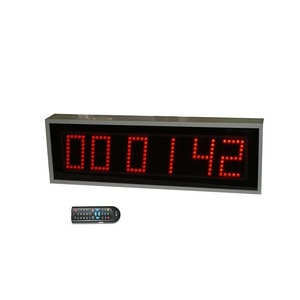 Часы-секундомер ПТК-Спорт С2.13d с дистанционным управлением, высота знака 130 мм арт. 017-2499