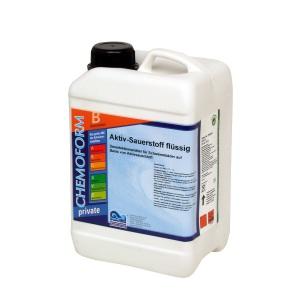 Chemoform Активный кислород жидкий для дезинфекции воды в бассейне