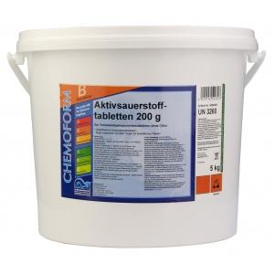 Chemoform Аквабланк О2 Таблетки (200 г), 50 кг