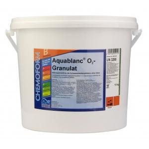 Chemoform Аквабланк О2 гранулированный. Активный кислород для дезинфекции воды в бассейнах