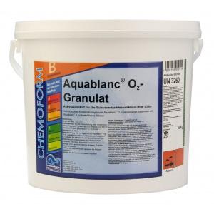 Chemoform Аквабланк О2 гранулированный. Активный кислород для дезинфекции воды в бассейнах, 5 кг арт. 591005