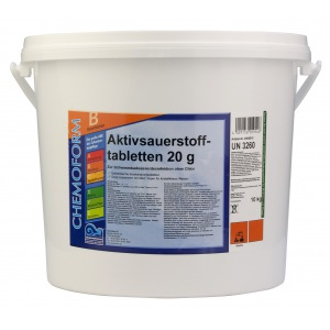 Chemoform Аквабланк О2 в таблетках (20 г), 50 кг
