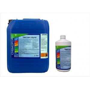 Чистая сауна жидкое средство с акт. кислородом для деревянных поверхностей 1 л Chemoform /1415001 арт. 1415001
