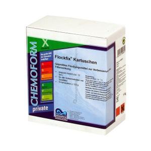 Chemoform Флокфикс флокулянт в картриджах 8 х 125 гр. 1 кг Chemoform /0908001 арт. 908001