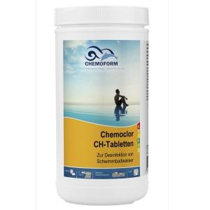 Chemoform Кемохлор-СН быстрорастворимый гипохлорит кальция (хлор 70% ) в таблетках 20 гр.
