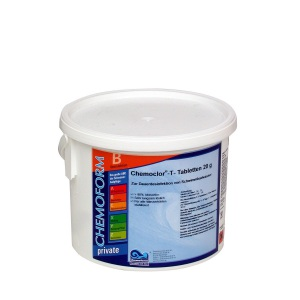 Chemoform Кемохлор Т-Таблетки 20 г (90% активный хлор)