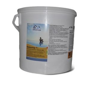 Chemoform Кемохлор-Т быстрорастворимый стабилизированный хлор 50% в таблетках 20 гр.
