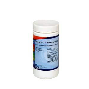 Chemoform Кемохлор-Т медленнорастворимый стабилизированный хлор 90% в таблетках 20 гр.