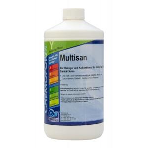 Chemoform Мультисан жидкое средство на основе кислоты для чистки поверхностей 1 л Chemoform /1021001 арт. 1021001