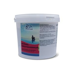Chemoform Увеличитель уровня pH+ 5 кг в гранулах Chemoform /0802005 арт. 802005