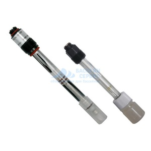 Датчик уровня pH (электрод) с кабелем 1 м