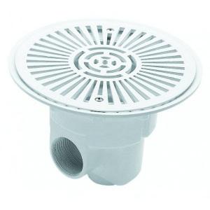 Донный слив IML круглый из ABS-пластика под бетон 2' Д 280 арт. A040