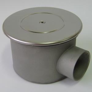 Донный слив Акватехника D=165 мм антивихревой