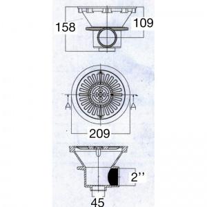 подключение внутреннее 2' /PA01467C/ арт. PA01467C