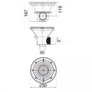 подключение внутреннее 2' /PA01467V/ арт. PA01467V