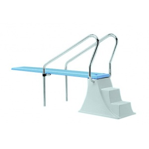 Доска AstralPool Elevado для прыжков в воду (трамплин), 2 х 0,55 x 0,4 м, стеклопластик арт. 00068