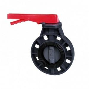 Дроссельная заслонка ПВХ Pool King 1,6 МПа d_90 мм /UBV01090/ арт. UBV01090