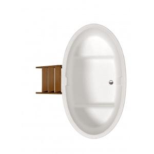 Двухместная овальная купель PolarSpa 'Стандарт++', 98*175*110 см, внешняя отделка дуб арт. K98D