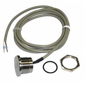 EL-кнопка (пьезокнопка) OSF, нерж. cталь, кабель 1,5 м, IP-68 арт. 108.100.5150