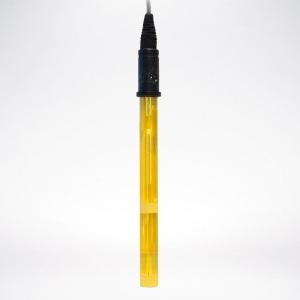 Электрод на pH Emec EPHM/D (комбинированный для низкой концентрации Cl2 с двойным соединением) соединение BNC, кабель 4,5 м (синий зонд)
