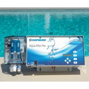 Электролизер Hayward 27,8 г хлора в час Aquarite Pro, для бассейнов объемом до 150м3 (AQR-Pro-150E) арт. AQR-PRO-150E
