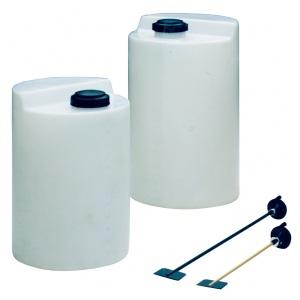 Емкость полиэтиленовая для хранения химикатов для насосов-дозаторов