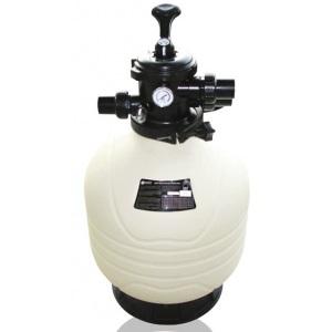 Фильтр диаметром 500 мм (верхнее подсоединение ) Emaux MFV20 (Opus) (с 6-ти поз. вентилем 1 1/2′)
