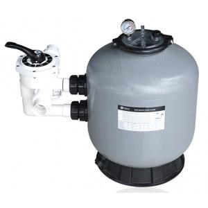 Фильтр диаметром 500 мм (боковое подсоединение 40 мм) Emaux S500 (Opus) (с 6-ти поз. вентилем 1 1/2′)