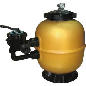 Фильтр акриловый Д. 450 мм, 7,0 м³/час, боковое подключение 1½' Pool King /AS450/ без вентиля арт. AS450
